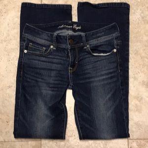 American Eagle Jeans sz 4 Boot Cutt